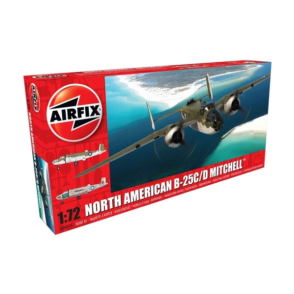 North American Mitchell Series 6 1:72 Air Fix Model Kit
