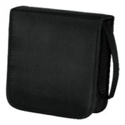 Hama CD Wallet Nylon 40 Black - 00033831