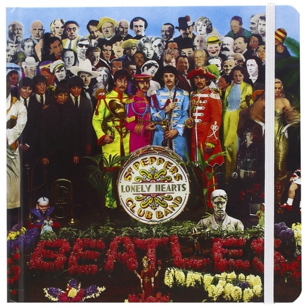 Official The Beatles - Sgt Peppers Lonely Hearts Club Band - Hardback Notebook / Journal