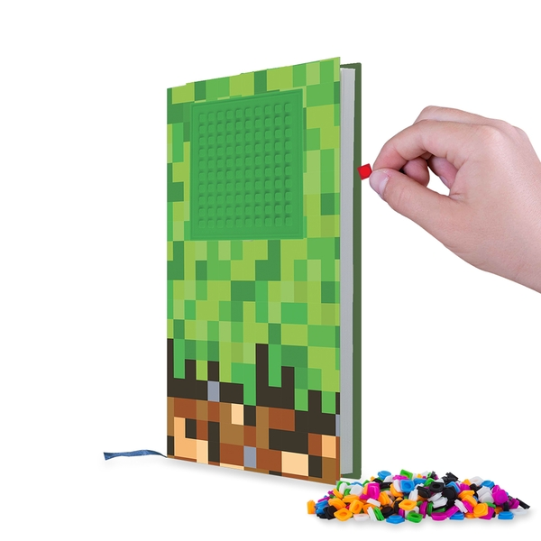 Pixie Crew (Minecraft) Green & Brown A5 Diary