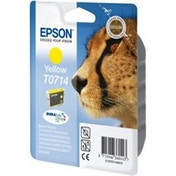 Epson C13T07144012 (T0714) Ink cartridge yellow, 415 pages, 6ml