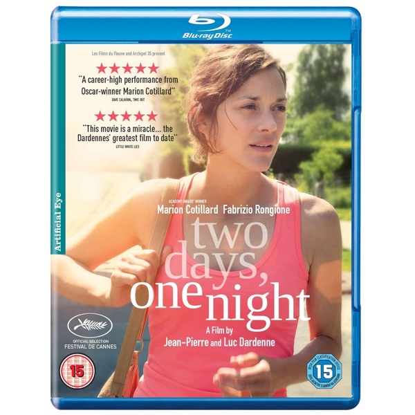 Two Days, One Night Blu-ray