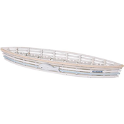 7 Piece Boat Candle Holder