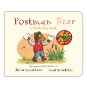 Postman Bear by Julia Donaldson (Board book, 2015)