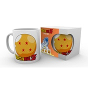 Dragon Ball Z Ball and Logo Mug