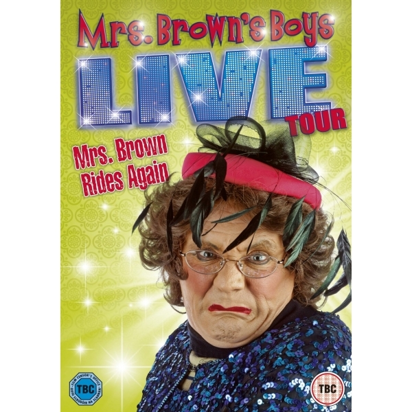 Mrs. Brown's Boys: Live Tour - Mrs. Brown Rides Again DVD