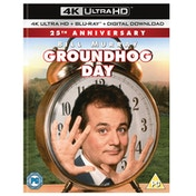 Groundhog Day 4K Ultra HD + Blu-ray + Digital Download (Region Free)