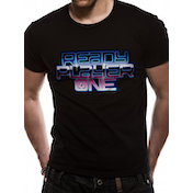 Ready Player One - Logo Men's XX-Large T-Shirt - Black