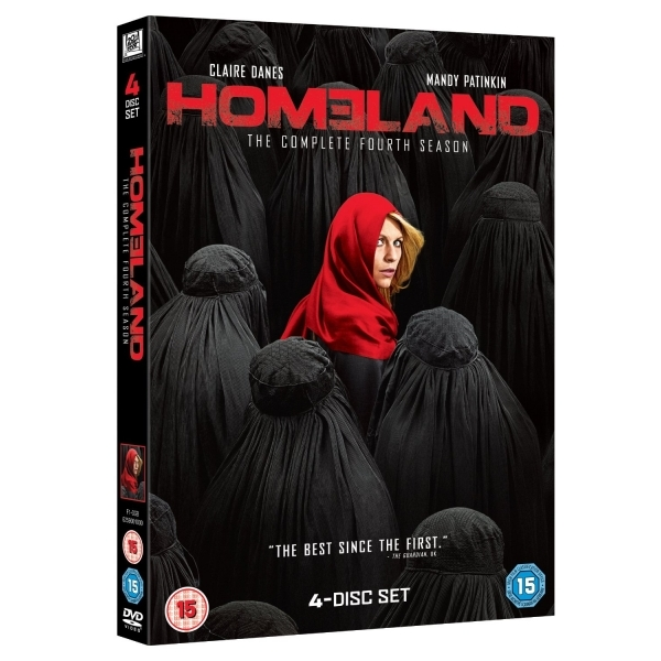 Homeland - Season 4 DVD