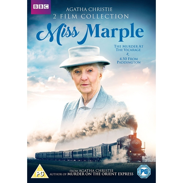 Miss Marple: 2 Film Collection (The Murder at the Vicarage   4.50 from Paddington) DVD