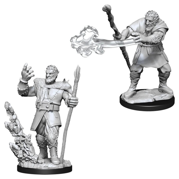 Dungeons & Dragons Nolzur's Marvelous Unpainted Miniatures (W11) Male Firbolg Druid