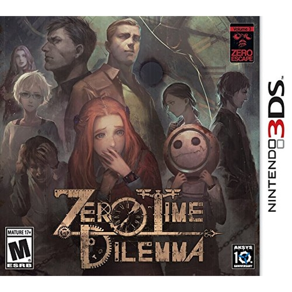 Zero Time Dilemma 3DS Game (#)