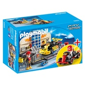 Playmobil City Action Go-Kart Garage Starter Set