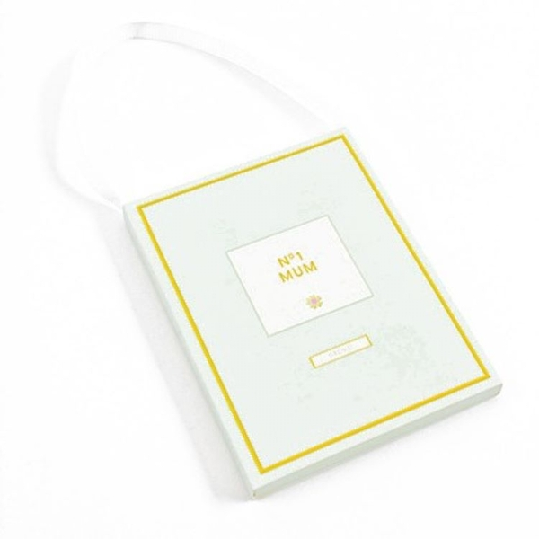 No.1 Mum  Orchid Scented Sachet By Heaven Sends