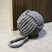 Rope Knot Door Stop | M&W Grey - Image 4