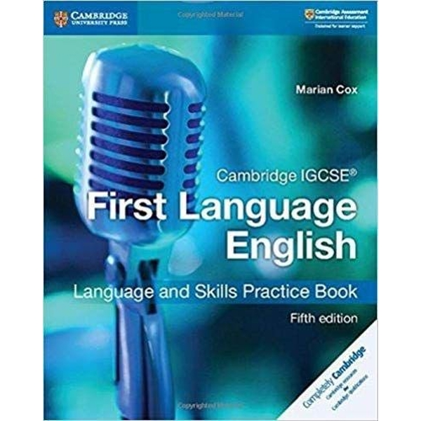Cambridge IGCSE (R) First Language English Language and Skills Practice Book  Paperback / softback 2018