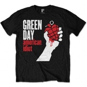 Green Day - American Idiot Men's Large T-Shirt - Black