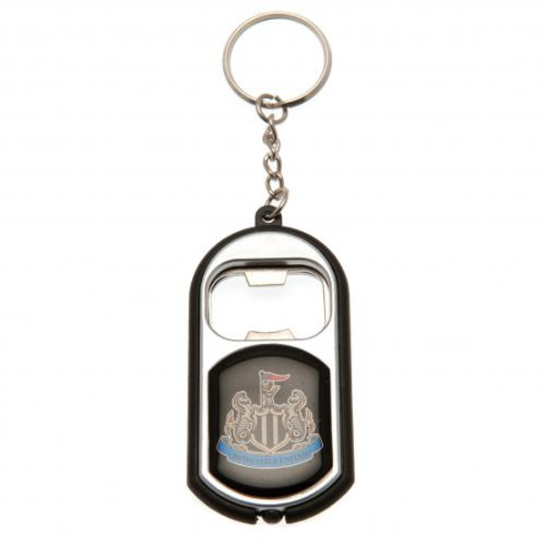 Newcastle United FC Key Ring Torch Bottle Opener