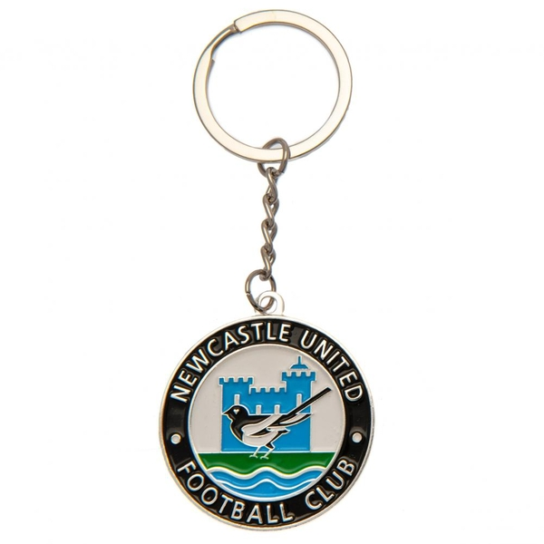 Newcastle United FC Keyring Retro