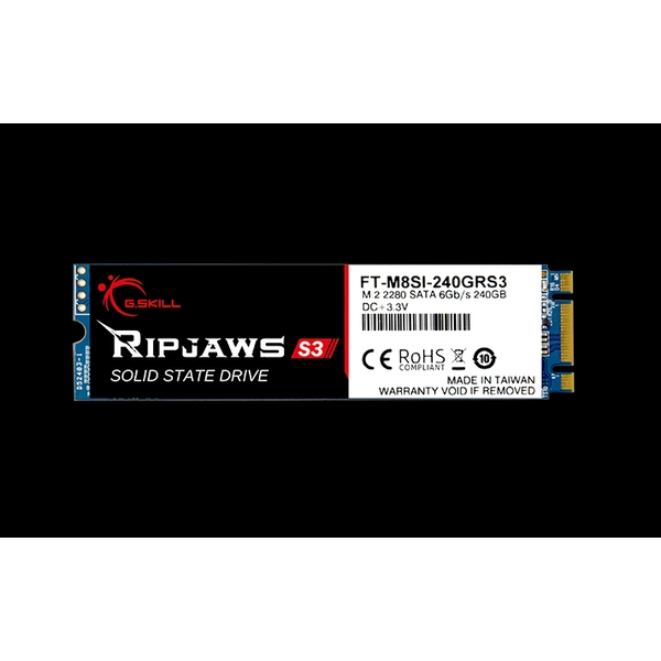240GB G.SKILL Ripjaws S3 M.2 SSD