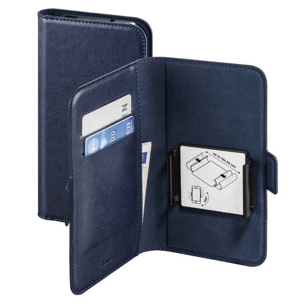 "Hama Smart Move Booklet Case, size XL (4.7 - 5.1""), blue"