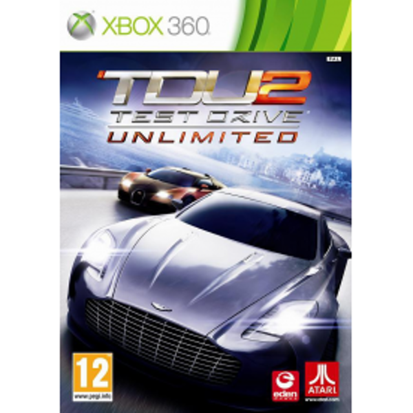 Test Drive Unlimited 2 Game With Pre-order Exclusive Bonus Xbox 360