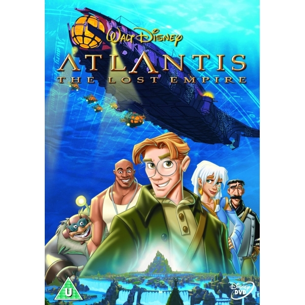 Atlantis The Lost Empire DVD