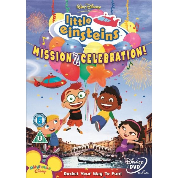 Little Einsteins Vol.1 - Mission Celebration DVD