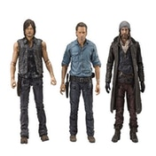 Daryl, Rick & Jesus (The Walking Dead) Allies Deluxe Box Set Figures