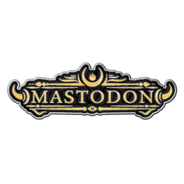 Mastodon - Logo Pin Badge