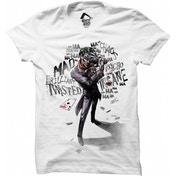 Batman - Joker Insane Men's Medium T-Shirt - White
