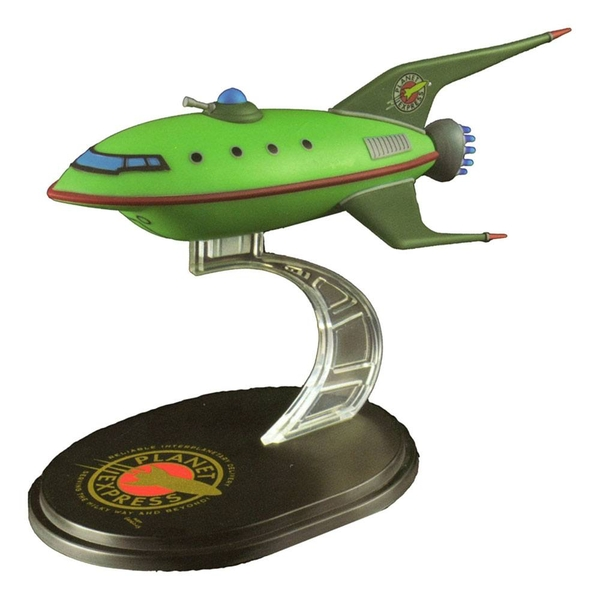 Planet Express Ship (Futurama) Q-Fig Mini Masters Replica - Image 1