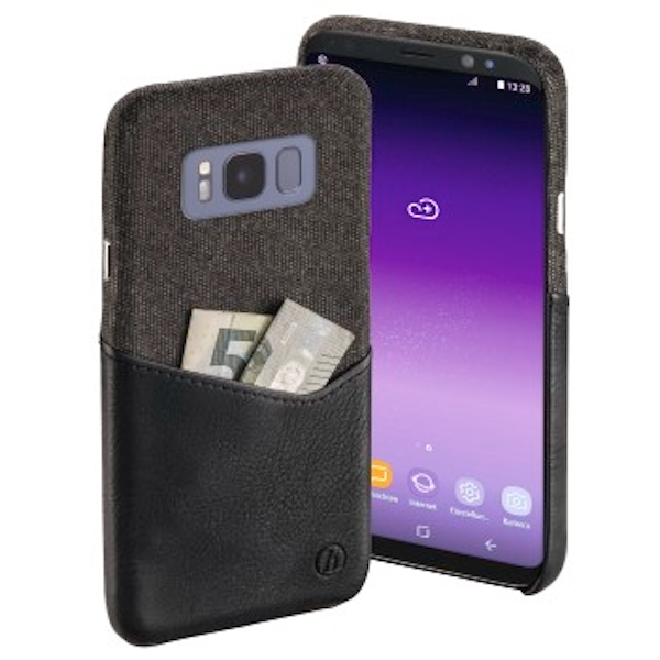 "Hama ""Gentle"" Cover for Samsung Galaxy S8, black"