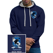 Harry Potter - House Ravenclaw Men's X-Large Varsity Hoodie - Blue
