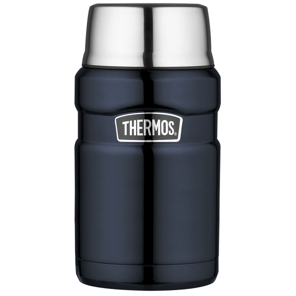 Stainless King Food Flask 0.71L Blue