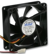 Akasa 80mm 1800RPM Black OEM Fan