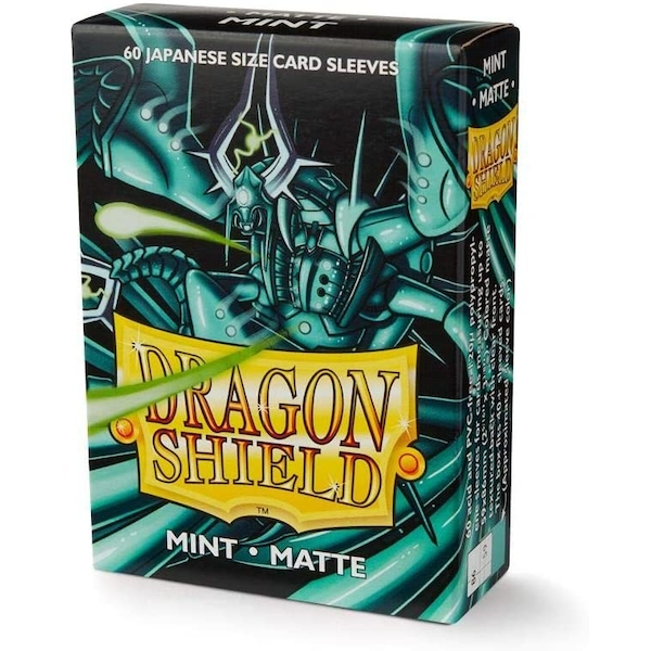 Dragon Shield Matte Mint Japanese Size Card Sleeves - 60 Sleeves