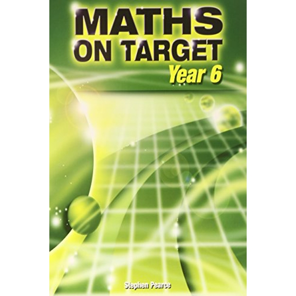 Maths on Target: Year 6 by Stephen Pearce (Paperback, 2008)