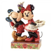 Under the Mistletoe Mickey and Minnie Mouse (Disney Traditions) Figurine