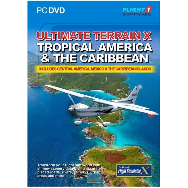 Ultimate Terrain X Tropical America and The Caribbean Game PC