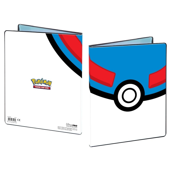 Ultra Pro Pokemon Great Ball 9 Pocket Portfolio