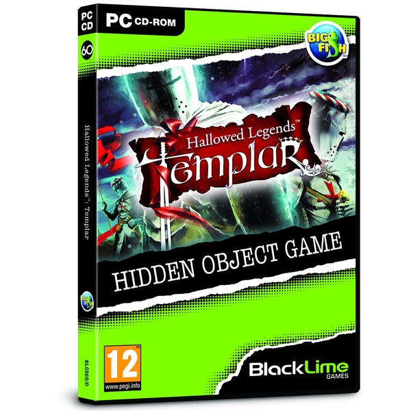 Hallowed Legends 2 The Templar Hidden Object Game for PC (CD-ROM)