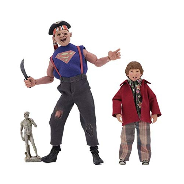 Sloth and Chunk (The Goonies) 8 Inch Clothed Figure 2 Pack