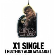 Chewbacca (Star Wars) Official Disney Car/Home Air Freshener