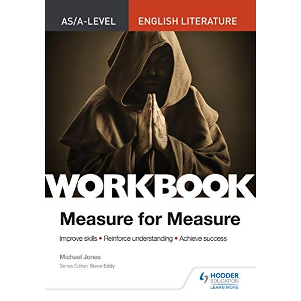 AS/A-level English Literature Workbook: Measure for Measure  Paperback / softback 2018