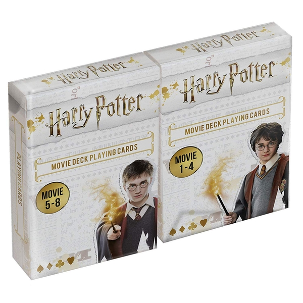 Harry Potter Double Deck (Movies 1-8) Playing Cards