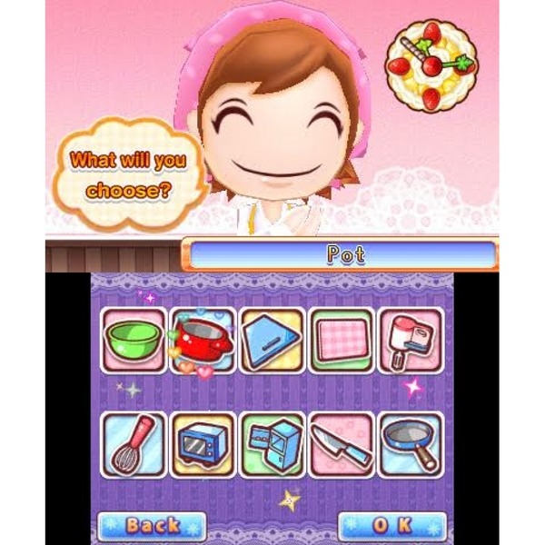 Cooking Mama Sweet Shop 3DS Game - Image 2