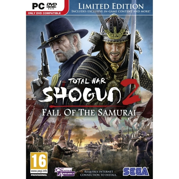 Total War Shogun 2 Fall Of The Samurai Limited Edition Game PC - Image 1