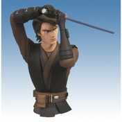 Star Wars The Clone Wars Anakin Skywalker Bust Bank Vinyl