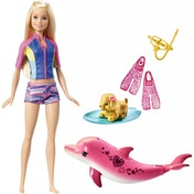 Barbie Dolphin Magic Snorkel Fun Barbie Doll